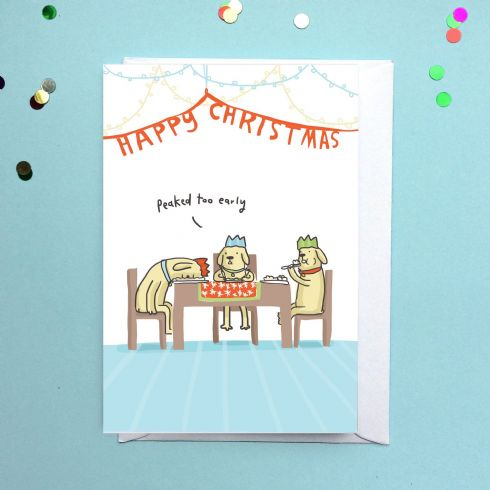 in klöver Art Gallery - Sarah Ray - Peaked Too Early Christmas Card